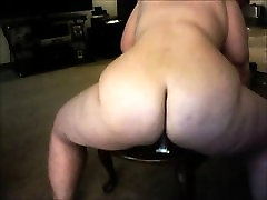 Mature wife plays with her toys