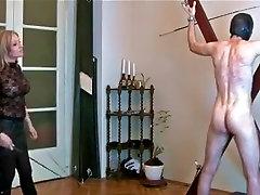 Horny amateur Spanking, Fetish xxx scene