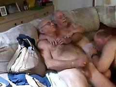 Horny homemade gay movie with Blowjob, Threesomes scenes