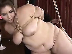 BDSM orgy training with busty slaves