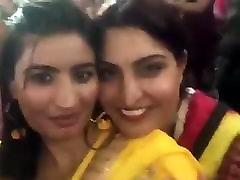 Indian Woman Grabs Friend&039;s Boob