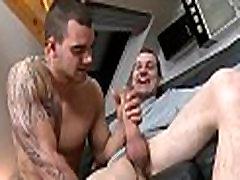 Licking a biggest gay ramrod