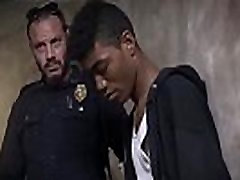 Gay interracial seniors videos Suspect on the Run, Gets Deep Dick