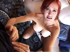 Best pornstar Bailey Odare in crazy mature, fishnet sex video