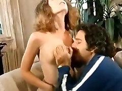 Retro vintage big natural tits cock cumshot blowjob