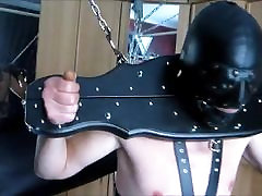 My slave training in the pillory