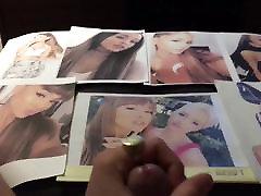 Ariana Grande Cum Tribute 42