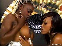 Black Lesbian Sucking Huge Boobs 5