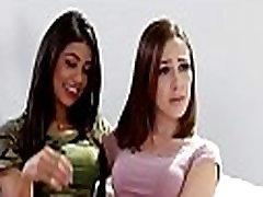 Hot teens tag-teamed the babysitter - Veronica Rodriguez, Jenna Sativa &amp Alexa