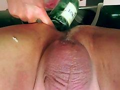 Anal injection fisting bottle doctor super nurse
