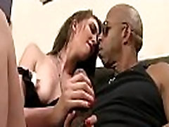 Cuckold Sessions with sexy big tit wife sucking big black dick 02