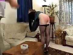 Exotic homemade Spanking, BDSM porn clip