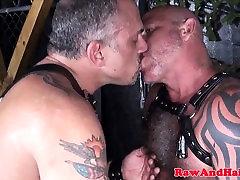 Dicksucking otter pounding tight asshole