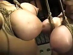 Amazing amateur BDSM, Big Tits xxx scene