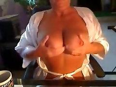Horny Homemade record with Masturbation, Mature scenes
