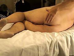 Spanking my fat ass