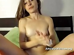 Slut with tits on webcam
