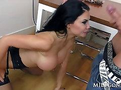 Big tit milf Jasmine Jae rides a cock