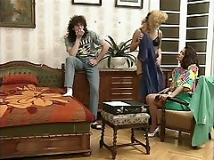 Crazy Homemade video with Vintage, Threesome scenes