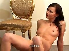 Amazing homemade Small Tits, BDSM porn movie