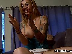 Scarlett Pain in Scarlett Pain Tattooed Big Boob Homemade Sextape - DTFSluts
