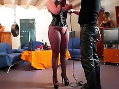 Amazing homemade Mature, BDSM xxx clip
