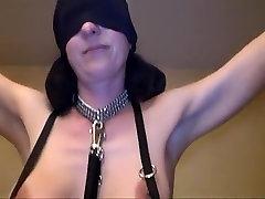 Crazy amateur BDSM, Shaved porn scene