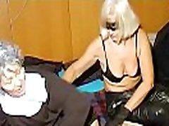 OmaHoteL Horny Granny Nun Tries alexis falks Sex With Toy