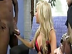 Cuckold Porn with Busty Wife Sucking Big Black Cock 11