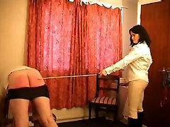 Horny amateur BDSM, Brunette porn scene
