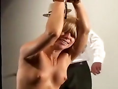 Amazing dad num sister BDSM, Blonde sex scene