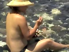 Big tit chinese wife at beach