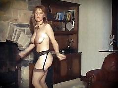 SUSSUDIO - vintage ginger big tits strip dance