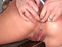 Sub MILF dominated over and fucked in ass
