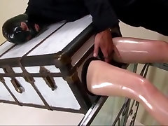 Amazing sexvideo hansikasex Masturbation, jerk off dining table adult scene
