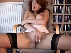 Redheaded MILF In masage big asd Lingerie