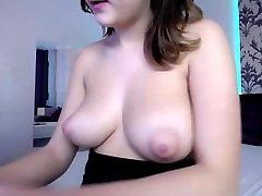 Babe with big natural boobs tits nipples