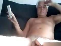 Old man of 71 age cum in cam