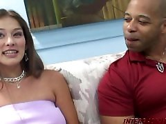 Hot Mom goes for big black cock fucking