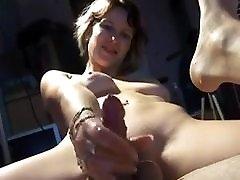 double dildo pegging and cumming