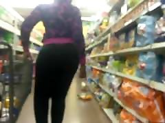 Phat Ass Amazon in Tight Black Pants