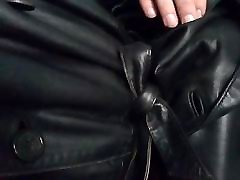 leather mac tease