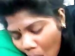 Blow Job by Tamil girl in Car