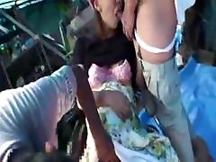 Young Japanese danoy hd bf lady fucks with homeless guy