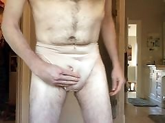 Trying on MIL panties