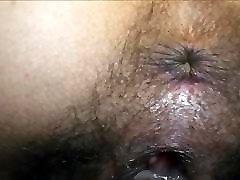 Rubbing her clit till orgasm