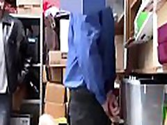 Shoplyfter - Hot Teen Fucked For Stealing Infront Of Dad
