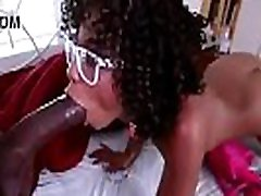 Petite black pussy fucked by black dick