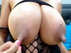 Big milky tit