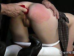 gange banged bbc redhead studen stepmom dan not dadat home filled with cum in dungeon